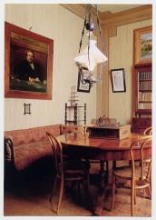 Camera da pranzo in casa Carducci