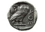 Tetradracma in argento di Atene