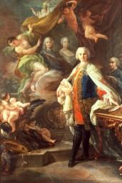 Corrado Giaquinto, ritratto di Carlo Broschi detto Farinelli