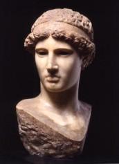 Copia in marmo della testa dell'Atena Lemnia di Fidia