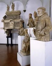 I Santi dei commercianti (Gruppo della Giustizia e dei santi patroni della città dal Palazzo della Mercanzia, Museo Civico Medievale)