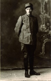 Ritratto fotografico di Leone Cantinazzi, morto il 2 ottobre 1918