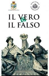 logo della mostra: Il vero e il falso