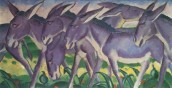 Eselfries, Marc Franc, 1911, olio su tela