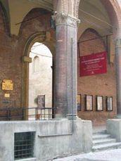 L'ingresso del Museo Civico Medievale