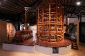 Museo del Patrimonio Industriale, modello di mulino da seta