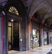 L\'ingresso della Biblioteca del Museo Civico del Risorgimento