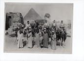 I coniugi Giampietro e Bianca Puppi in Egitto, settembre 1956.  Per gentile concessione della famiglia Puppi.
