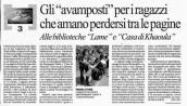 Articolo su Repubblica 28-06-2011