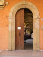 L'ingresso del museo