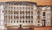 Teatro Comunale - modellino di Bibiena