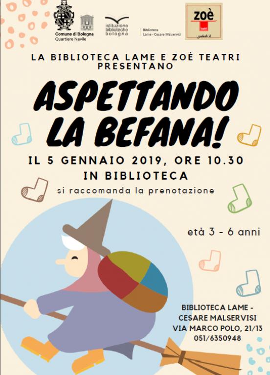 Aspettando La Befana Eventi Istituzione Biblioteche Di Bologna