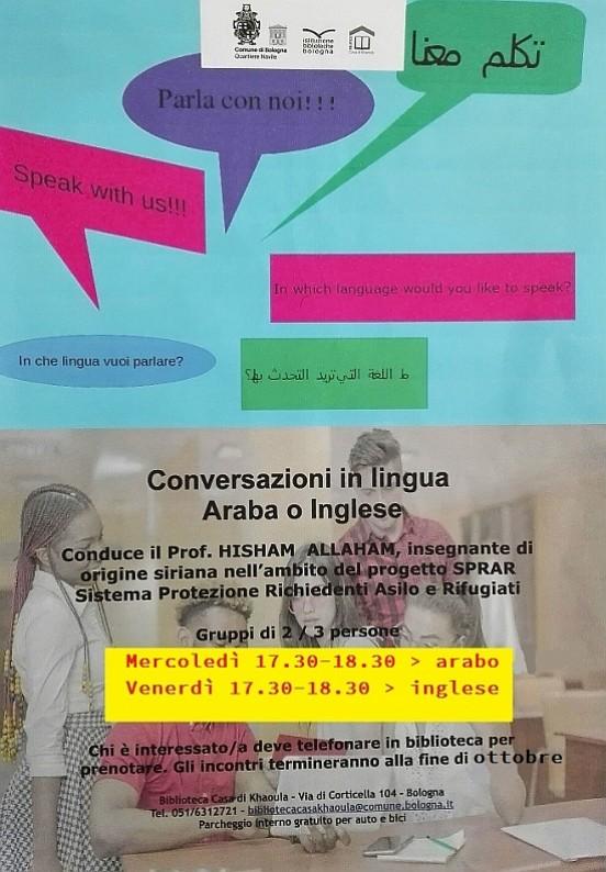 Araba IngleseEventi O Istituzione Conversazioni In Lingua zqVUjLSpGM