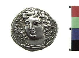 Dracma in argento di Larissa(Fronte)
