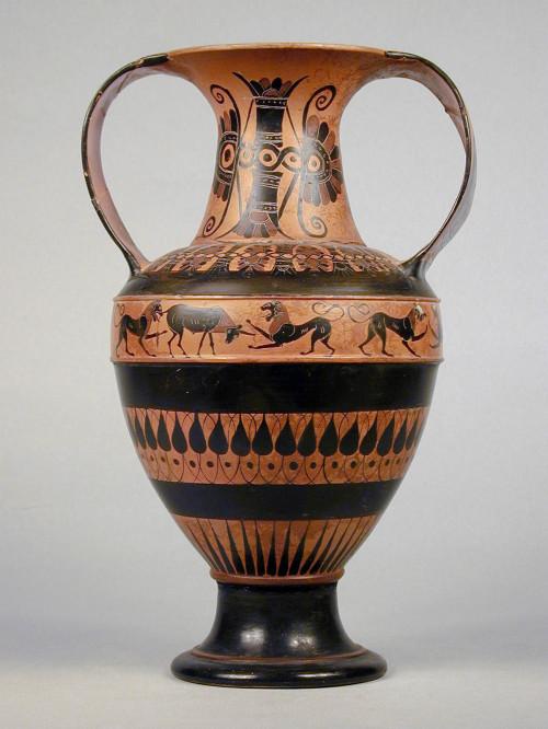 I vasi della collezione greca museo percorsi i vasi for Disegno vaso da colorare