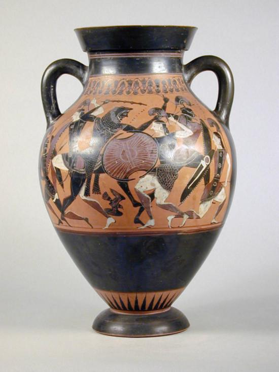 Anfora Attica A Figure Nere Collezioni Online Museo