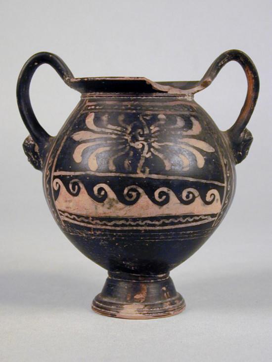 Vaso kantharoide apulo sovraddipinto collezioni online for Vasi antichi