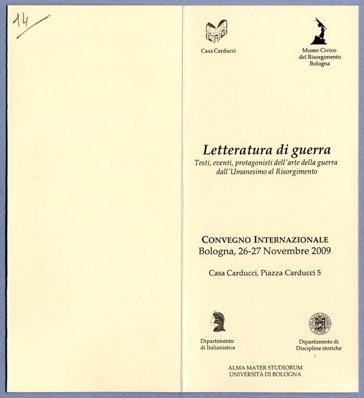 Iniziative 2009