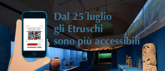Dal 25 luglio gli Etruschi sono più accessibili