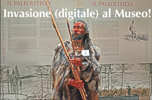 Invasione (digitale) al Museo!