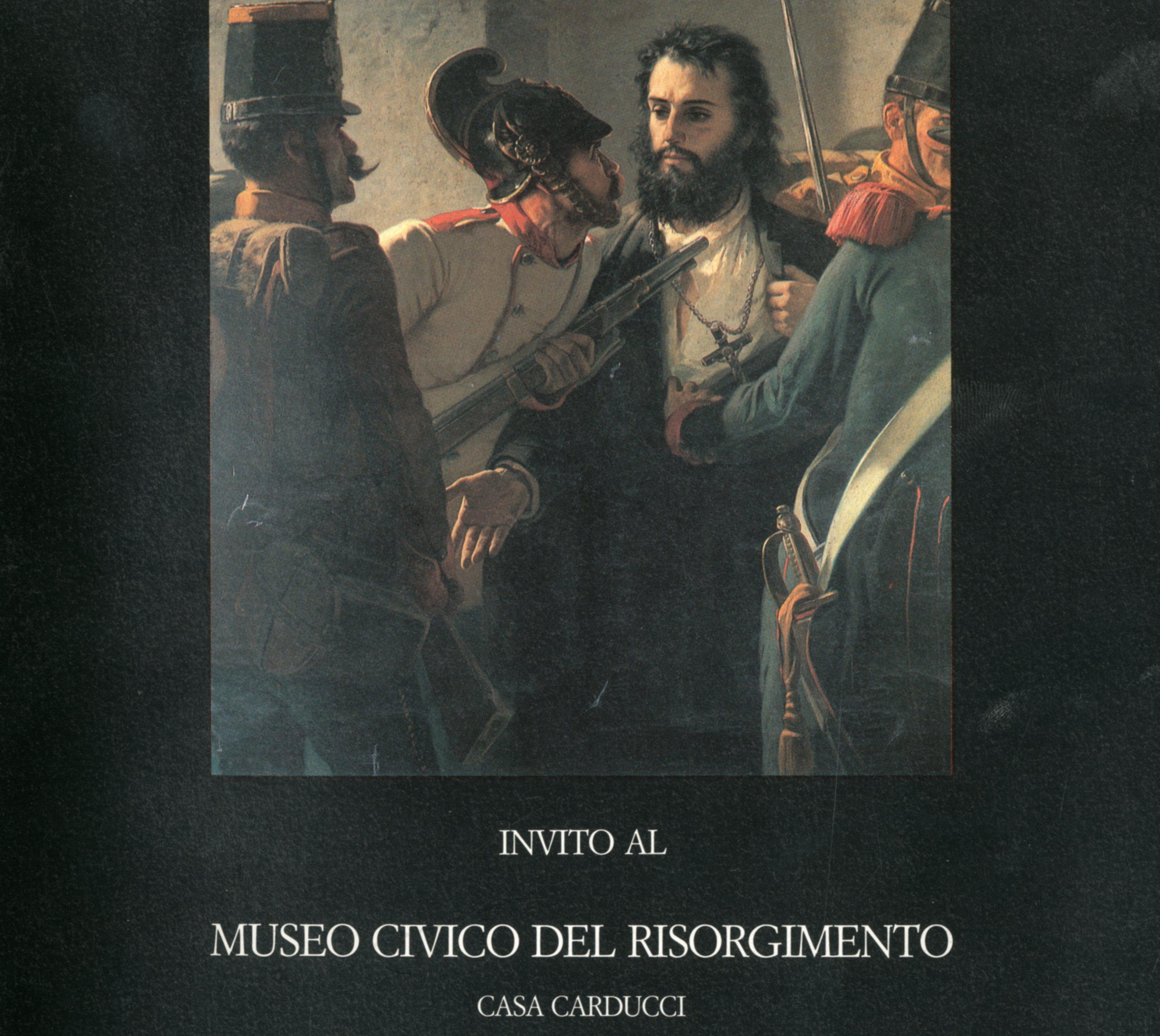 Invito al Museo civico del Risorgimento