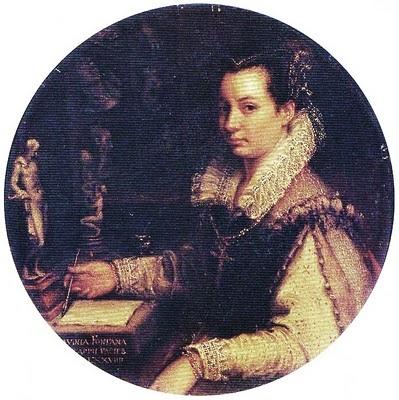 Lavinia Fontana. Autoritratto.