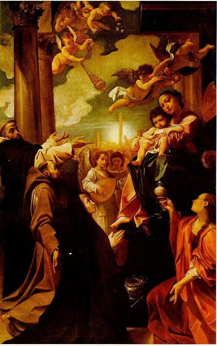 Ludovico Carracci, Madonna dei Bargellini, Pinacoteca di Bologna