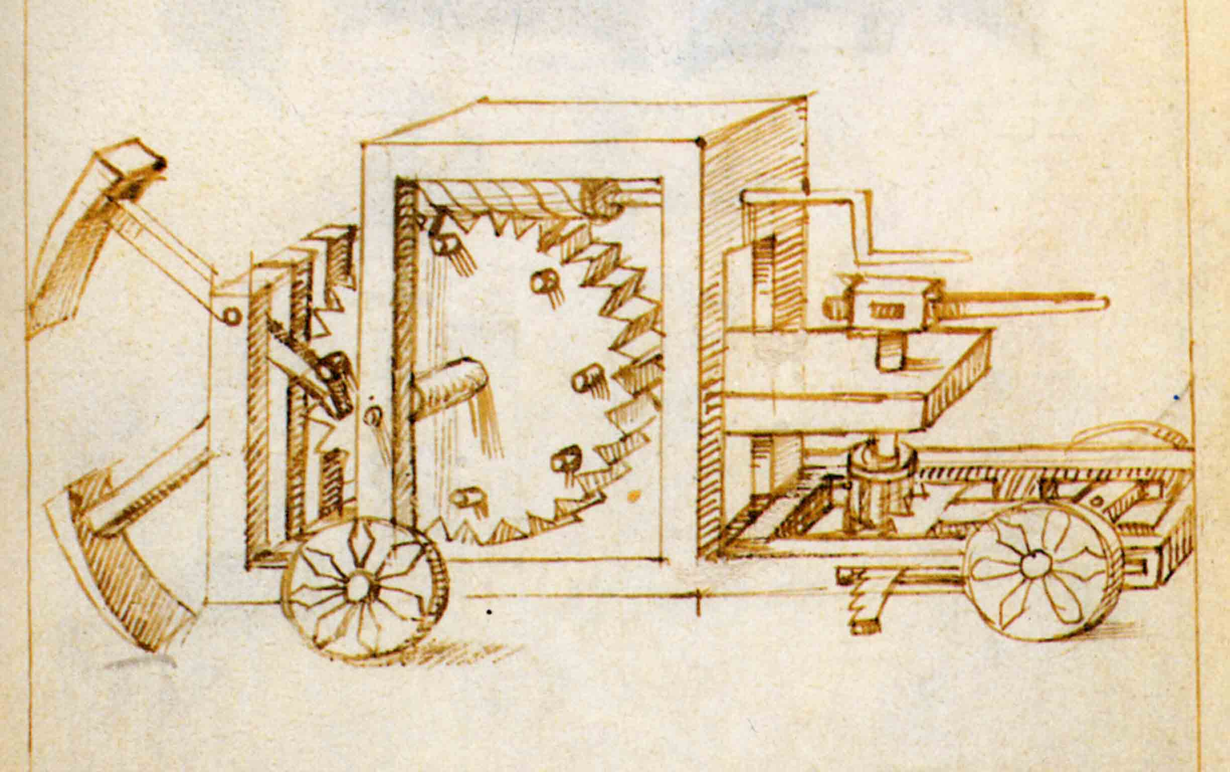 P. G. Molari, MACHINES AS THE PUREST EXPRESSION OF ENGINEERING AND FOUNDATIONS OF RENAISSANCE