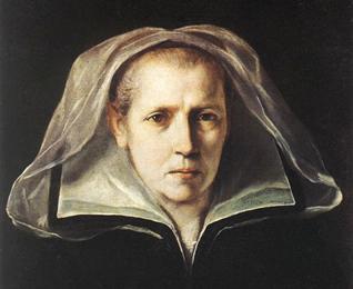 Guido Reni, Ritratto di donna anziana (Ritratto della madre), Bologna, Pinacoteca Nazionale.