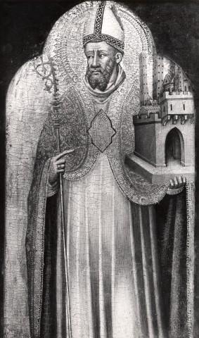 San Petronio, tempera su tavola, Simone di Filippo (attivo tra 1355 e 1399)